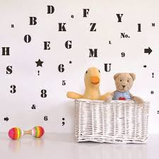Alphabet Wall Decals For Nursery by Compare Prices On 3d Alphabet Stickers Online Shopping Buy Low