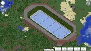 my large ice hockey arena screenshots show your creation