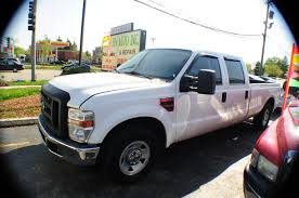 Ford Diesel Truck Used - 2008 ford f250 white crew 4x2 diesel truck