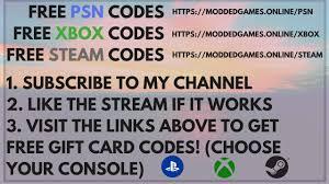 steam online gift card free psn codes free xbox codes free steam codes free gift