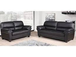 Black Faux Leather Sofa Faux Leather Sofa Set Mforum