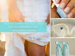something blue ideas creative something blue ideas for your wedding