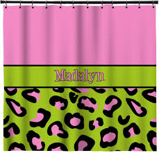 Pink Green Shower Curtain Lime Green And Pink Shower Curtain Shower Curtain