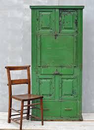 green bureau rustic vintage bureau cabinet original green paintwork home
