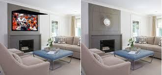 Decorative Flat Screen Tv Covers Tv Cover Ups Frame Tv Mirror U0026 Art Solutions Tv Cover Ups