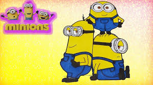 minions in despicable me 3 coloring pages minions colouring fun