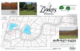 sales plat the lakes at windridge ringle development 918 637
