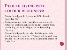 Most Common Colour Blindness Colour Blindness Ppt Download