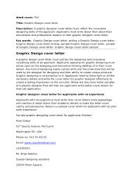 bunch ideas of writing a cover letter graphic design job with
