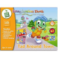 Leapfrog Phonics Desk Leap Frog Tad Around Town An Imagination Desk Coloring Book By
