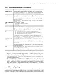 bureau d ude technique d inition chapter 2 summary of recommended standardized procedures and