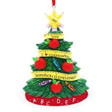 i kindergarten tree ornament personalized
