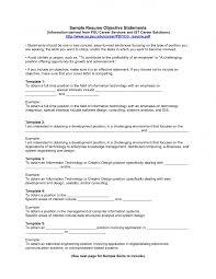 Job Description On Resume Objective Examples On Resume Berathen Com