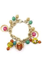 bracelet murano images 1960s vintage bracelet murano glass beads charms dressing vintage jpg