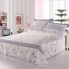 best quality bed sheets hot best quality 100 combed cotton flat sheet brief leaf printed