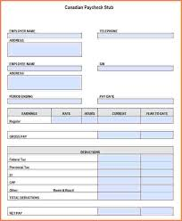 Payroll Statement Template by 10 Payroll Statement Template Sales Slip Template