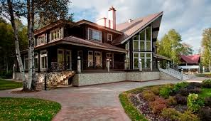 Two Story Log Homes by Prefab House Contemporary Energy Efficient Two Story Helmi