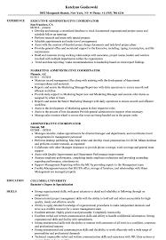 resume template administrative coordinator iii salary finder free administrative coordinator resume sles velvet jobs
