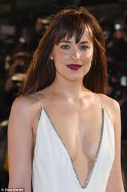 dakota johnson pubic hair fifty shades of grey s dakota johnson at london premiere with