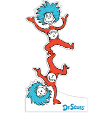 thing 1 and thing 2 coloring pages funycoloring