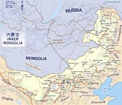 Wuhan China Map by Inner Mongolia Autonomous Region China