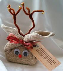 Homemade Christmas Ideas by Washcloth Covered Bar Of Soap Reindeer Poem Everyone