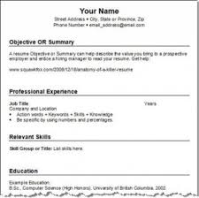 Sample Of Resume Objectives Resume Cv Cover Letter How To Write A by Resume Objective Vs Summary Resume Objective Vs Summary Resume