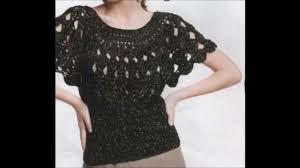 crochet blouses how to crochet blouse black free pattern