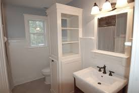 Linen Tower Cabinets Bathroom - ideas bathroom linen tower with beautiful free standing bath