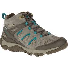 womens hiking boots merrell s outmost mid ventilator waterproof hiking boots