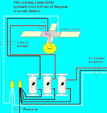 single switch for fan and light wiring switch for ceiling fan with light also ceiling fan with light
