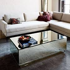 silver mirrored coffee table coffee tables silvia mirror coffee table arbor troy cheap mirrored