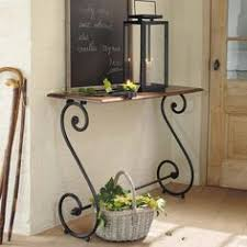 Wrought Iron Console Table Wrought Iron Milan Console Table By Mathews Co Church Ideas