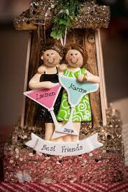 personalised ornament best friends out