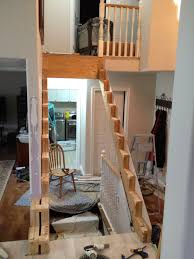 Stairs With Open Risers by Custom Open Riser Staircase With Birdcage Wrought Iron Spindles