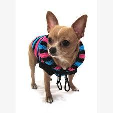 hoodie cotton unisex pet clothing stripes black blue pink