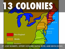Thirteen Colonies Map 13 Colonies Images Reverse Search
