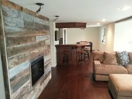 home rendition rustic and weathered wood walls