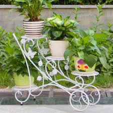china wrought iron planter stand for outdoor decoration china
