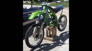 cheap motocross bike make a cheap dirt bike stand youtube