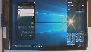 video a sneak peak at notification syncing in windows 10