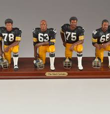 Steel Curtain Pictures Pittsburgh Steelers Danbury Mint