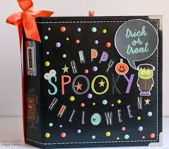 6x8 Album Happy Halloween Simple Stories Scrapbook Com Use Simple