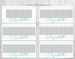 photo collage template 30x30 set 52 weeks project storyboard