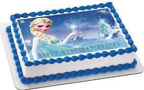 edible cake topper frozen 1 edible birthday cake or cupcake topper edible prints on