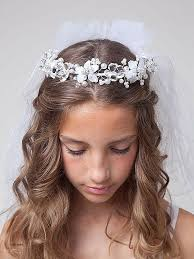 cute hairstyles for first communion long hairstyles beautiful first communion hairstyles for long