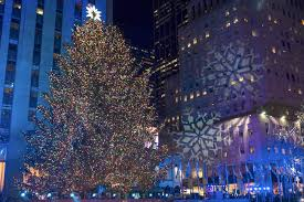 rockefeller tree lighting attracts thousands heraldnet