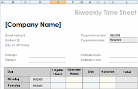 Timesheet Excel Template Free Excel Sheet Template