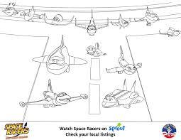space racers print