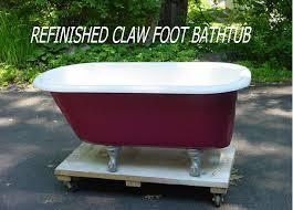 Clawed Bathtub Photo Gallery Refinished Bathtubs Sinks Wall Tile